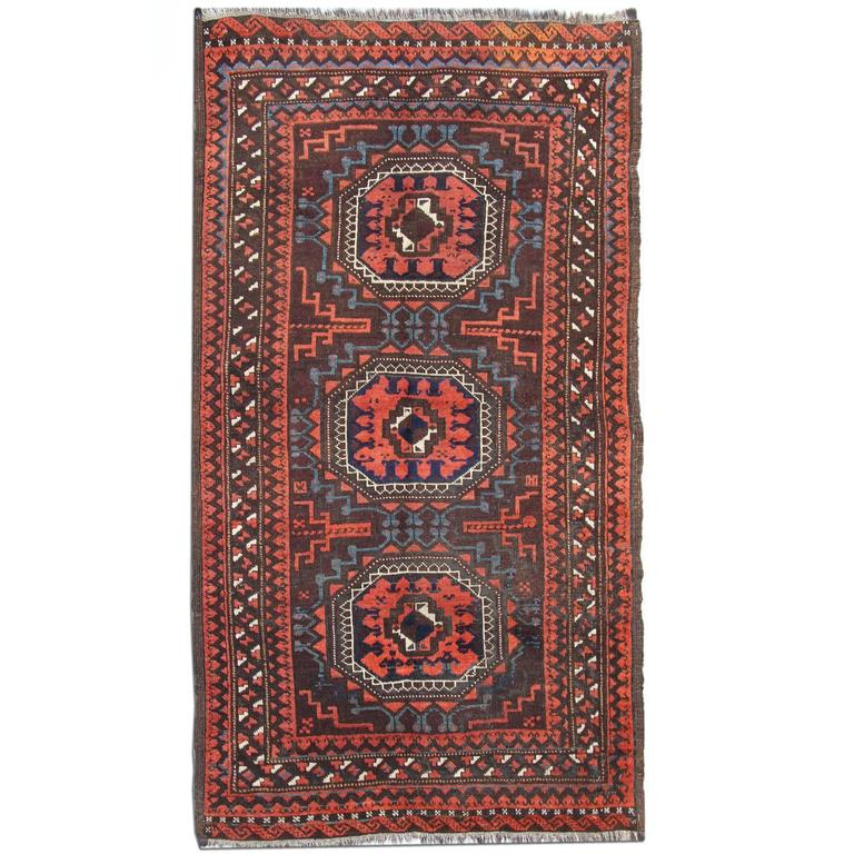 Antique Persian Baluch Rug For Sale At 1stdibs