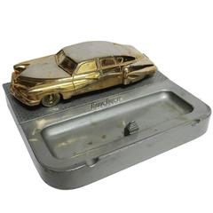 1948 Tucker Automobile Promotional Cigarette Box and Ashtray