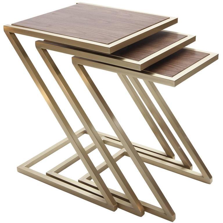 Zumm Zum Zu Wood Nesting Tables