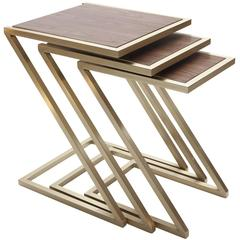 Zumm Zum Zu Wood Nesting Tables