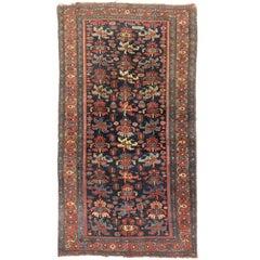 Late 19th Century Antique Persian Bijar Rug
