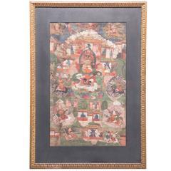Vaishravana Thangka