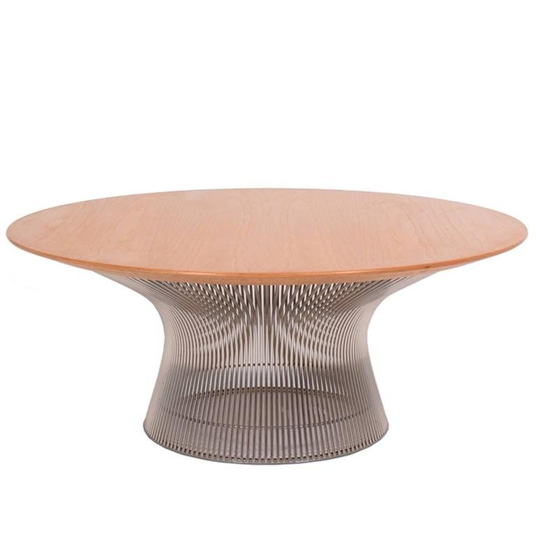 Coffee table by warren platner for sale at 1stdibs for Warren platner coffee table