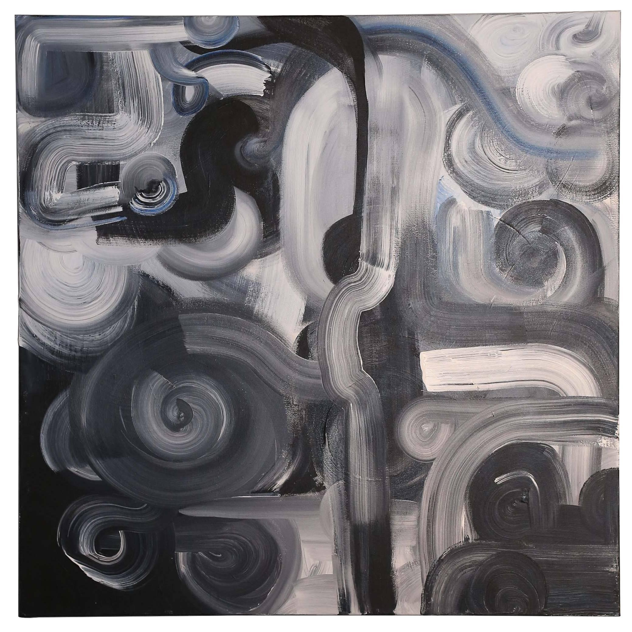 2016 Mixed-Media on Canvas by Texas Artist Chanel Kaposta
