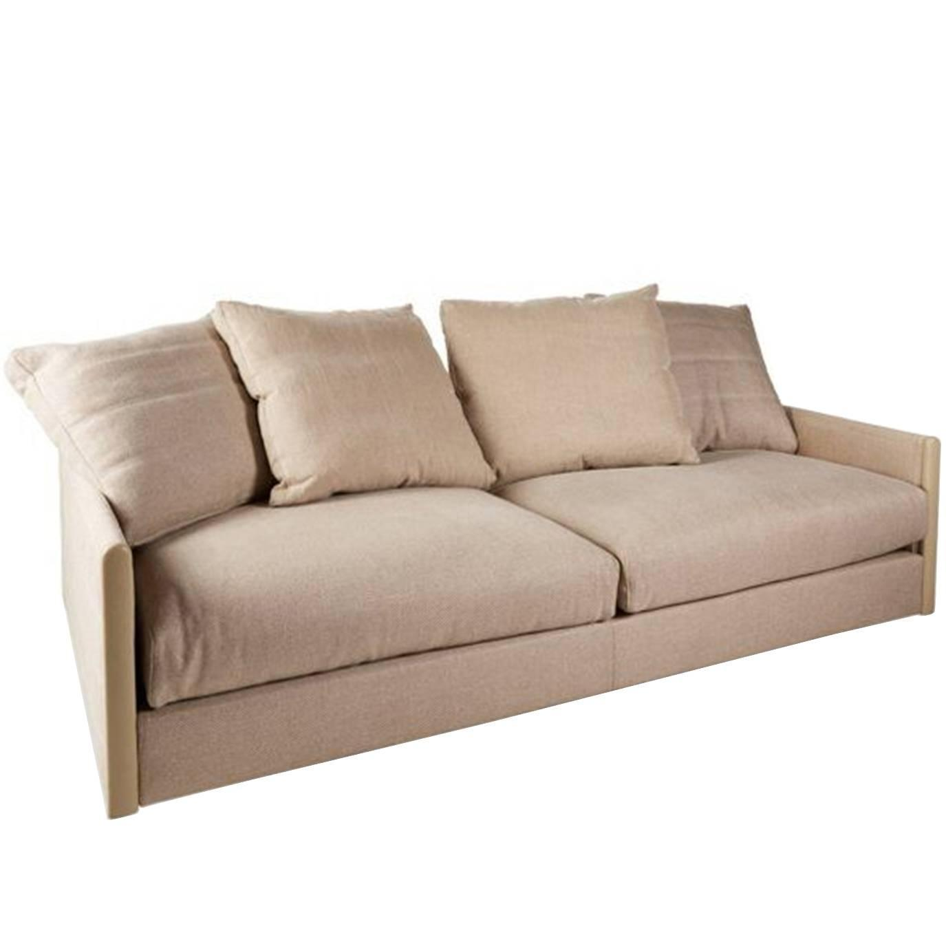 Giorgetti wally sofa in fabric for sale at 1stdibs for Fabric sofas for sale