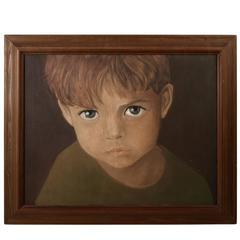 """Big Eyes"" Painting"