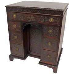 Mahogany Desk Dressing Table English 19th Century
