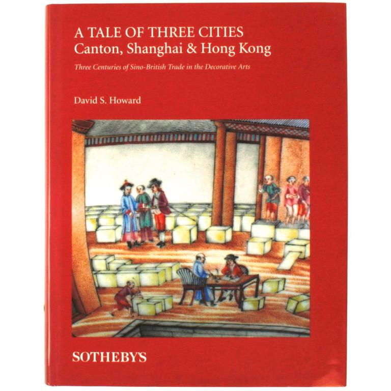 Tale of Three Cities: Canton, Shanghai & Hong Kong, Signed 1st Edition Book For Sale