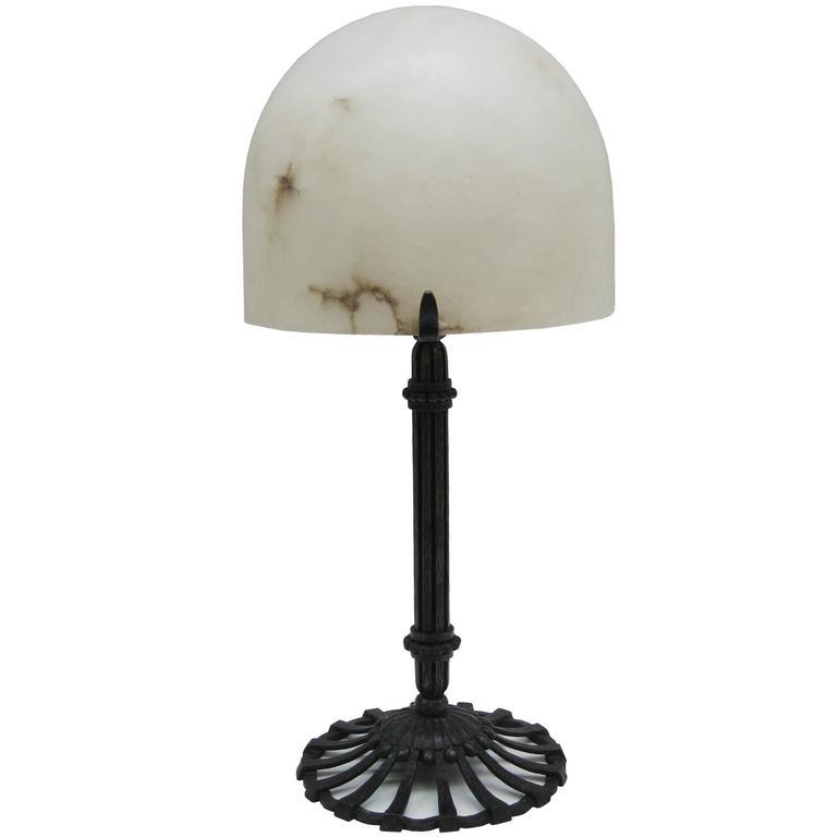 Art Deco Desk Lamp by Raymond Subes