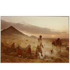 "Mitch Epstein Photographic Print ""Pushkar Camel Fair, Rajasthan, India, 1978"""