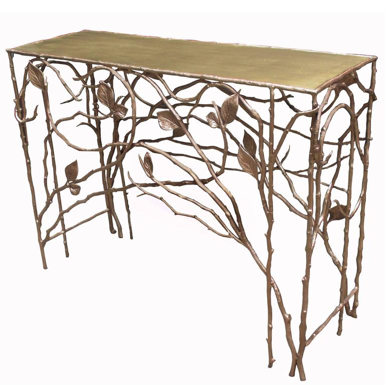 Jacques Goldstein Limited Edition Bronze Console 1