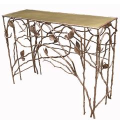 Jacques Goldstein Limited Edition Bronze Console