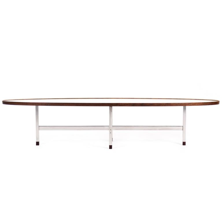 Edward Wormley Surfboard Coffee Table for Dunbar