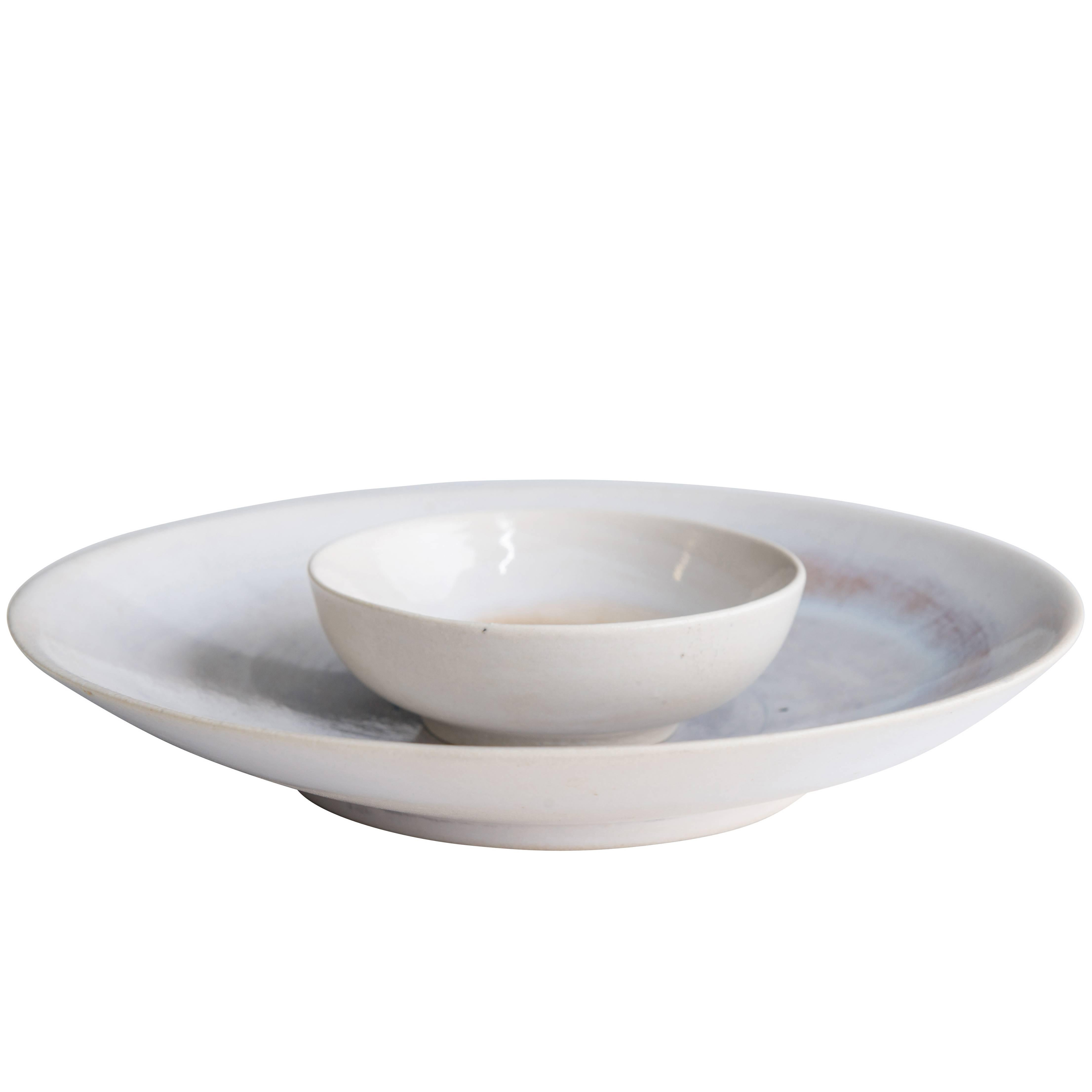 Two Ceramic Bowls by Georges Jouve