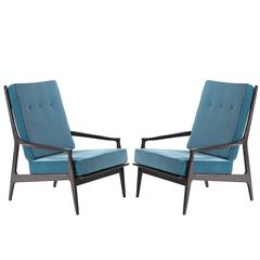 "Milo Baughman for Thayer Coggin ""Archie"" Lounge Chairs"
