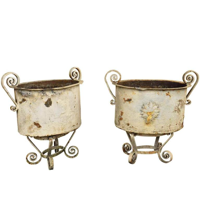 Pair of 19th Century Jardinières from the South of France