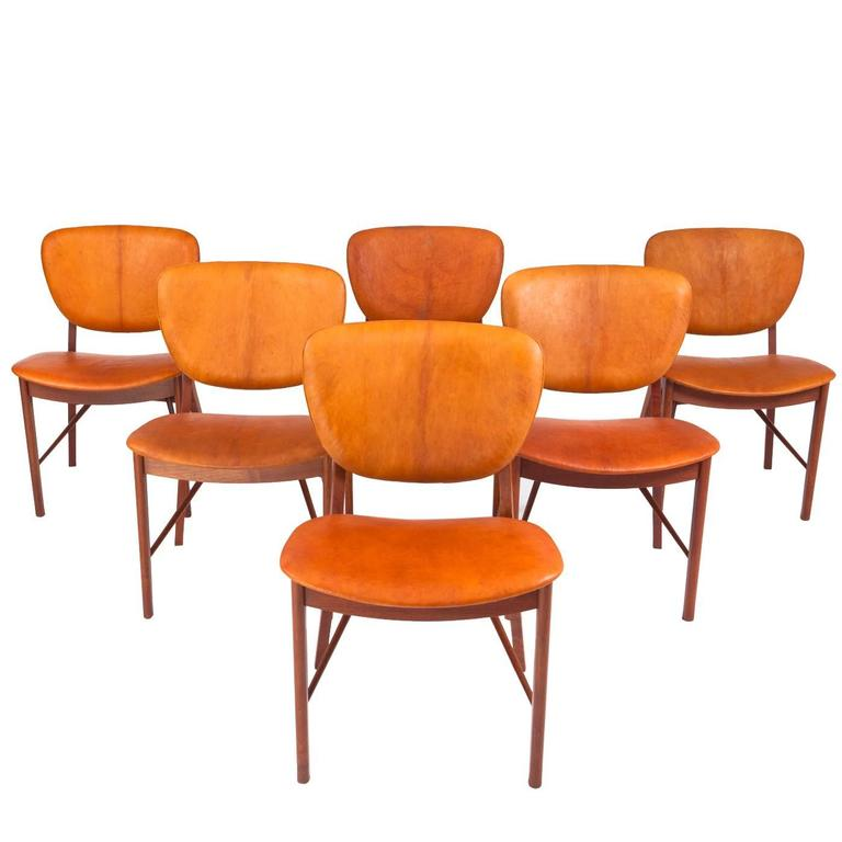 P. Vodder Set of Six Chairs 1