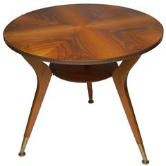 Gio Ponti Style Coffee Table, Italy, 1950s
