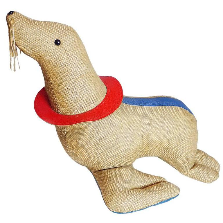 Renate Müller Therapeutic Toy Seal Oversized Stuffed Animal, 1971 1