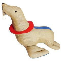 Renate Müller Therapeutic Toy Seal Oversized Stuffed Animal, 1971