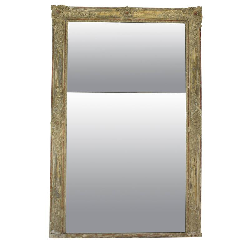 French over mantle mirror for sale at 1stdibs for Mantel mirrors