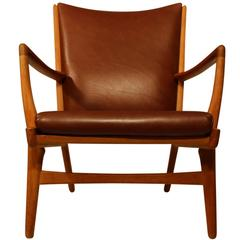Hans J Wegner Lounge Chair, Model AP 16