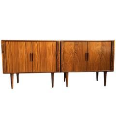 Kai Kristiansen, Matching Pair of Rosewood Sideboard Cabinets
