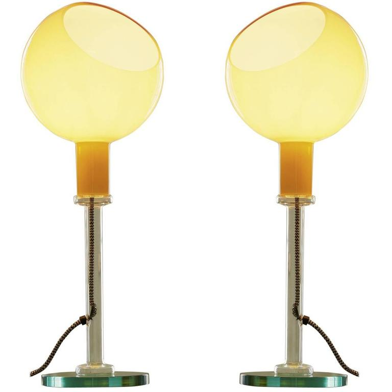 Gae Aulenti & Piero Castiglioni 'Parola' Table Lamp for Fontana Arte