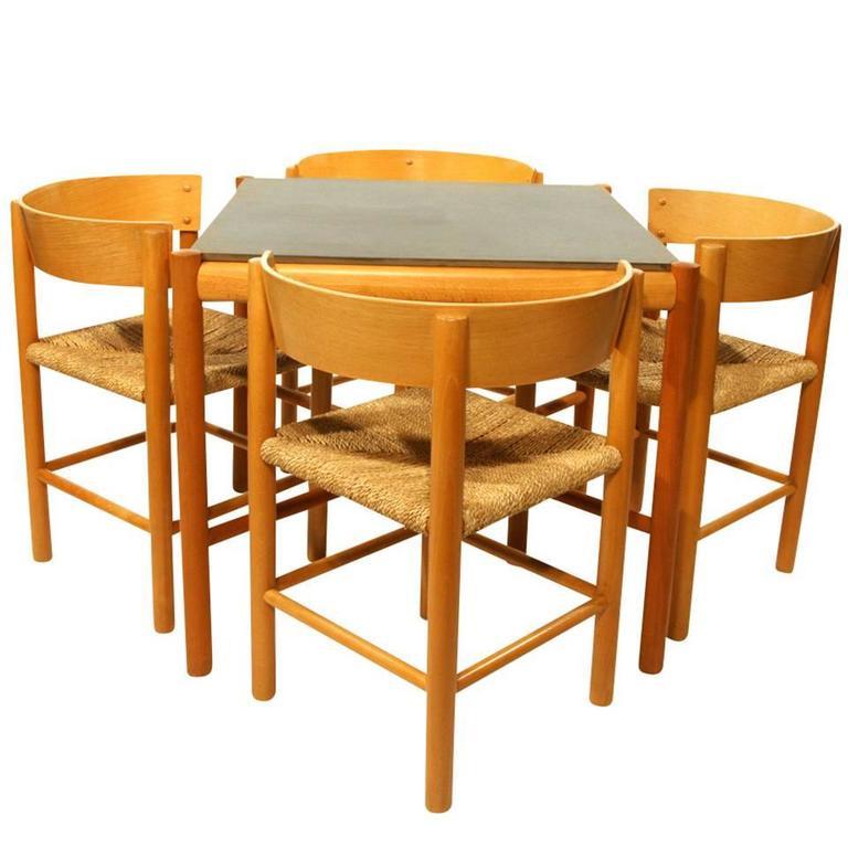 Mogens Lassen Set of Furniture for Fritz Hansen, Denmark 1