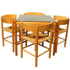 Mogens Lassen Set of Furniture for Fritz Hansen, Denmark