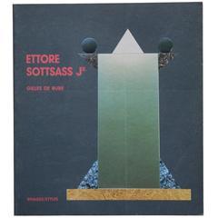 """""""Ettore Sottsass Jr"""" Book"""