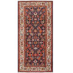 Antique Blue Persian Malayer Rug