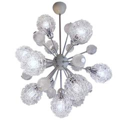 Richard Essig Bubble Glass Sputnik Chandelier