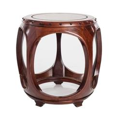 Vintage Chinese Barrel Table