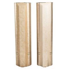 Art Deco Style Pedestals