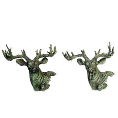 Iron Stags Head