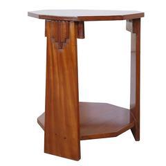 Art Deco Side Table / Gueridon circa 1940s