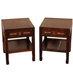 Pair of Antique Chinese Low Tables