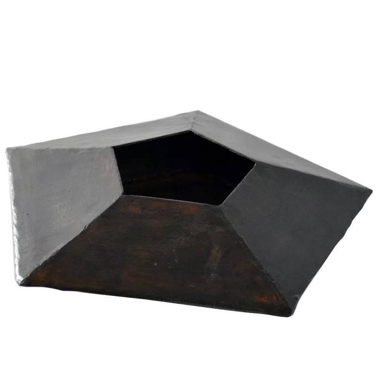 Vessel No. 5 by JM Szymanski in Blackened Steel