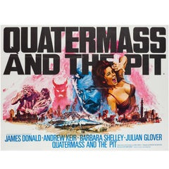 Quatermass and the Pit Original UK Film Poster, Tom Chantrell, 1967