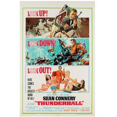Thunderball Original US Film Poster, Robert McGinnis & Frank McCarthy, 1965