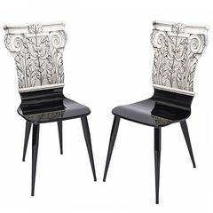 Fornasetti 'Corinthian Column' Chair