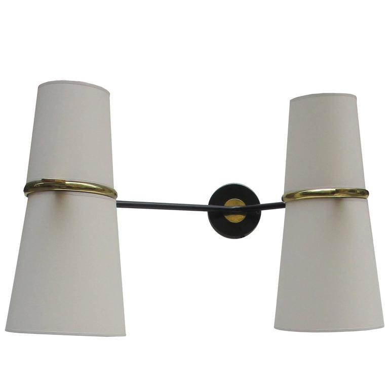 Pair of Modernist Articulated Sconces