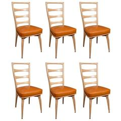 Six Maurice Pre Dining Chairs