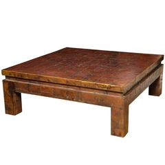 Large-Scale Brutalist Style Coffee Table