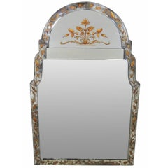 Jansen Églomiséd Framed Hanging Mirror