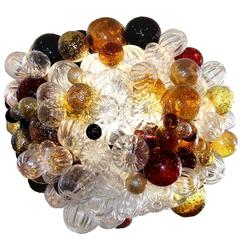 Original Bubble Glass Chandelier