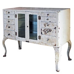 Antique M. Weiss & Co. Doctor's Cabinet