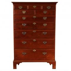 Federal Mid Atlantic States Antique Tall Chest