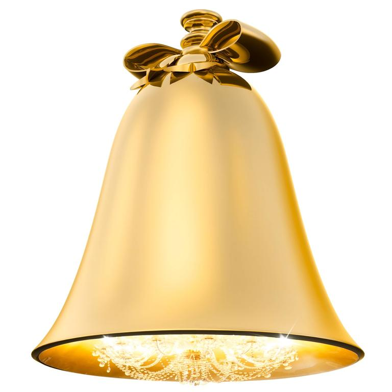 Baby Bell Chandelier Gold For Sale at 1stdibs – Bell Chandelier